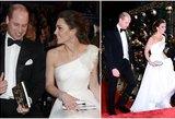 Middleton sužibo ant raudonojo kilimo: atrodė, kad ir vėl ruošiasi vestuvėms