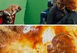Pamatykite Holivudo užkulisius: šios nuotraukos įrodo, kaip viską pakeičia specialieji efektai