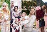 Kitokios garsenybių pusės: žinomų šeimų asmeniniuose kadruose – išskirtinės šventės akimirkos