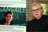 Š. Bartą užstojusi teisininkė: J. Steponaitytė tapo Kremliaus propagandistų įrankiu?