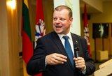 Skvernelis tikina, kad Lietuvai nereikia imtis ekonomikos skatinimo priemonių
