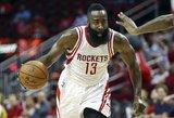 """Įspūdingai atakavę """"Rockets"""" pagerino tritaškių rekordą"""