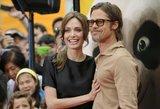 Besiskiriantys Jolie ir Pittas susitarė dėl vaikų globos