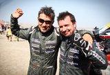 Juknevičius įvertino savo 10-ą Dakarą: mums tai – viena sunkiausių patirčių