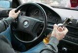 Vilniuje sustabdytas neblaivus vairavęs kelių patrulis