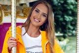 Soc. tinklų žvaigždė Petručionytė tapo modeliu: vasaros neįsivaizduoja be trumpų sijonų