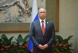 Vladimiras Putinas yra kaip medyje užstrigęs katinas, kuris lipa vis aukštyn