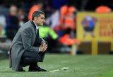"""Sirgalių atsiprašęs """"Barcelona"""" treneris nusilenkė """"Liverpool"""": nežinau, kas toliau"""