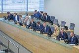 Seime kuriama nauja frakcija, ji gali pretenduoti į ministro portfelį