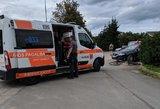 Vilniuje automobilis parbloškė dviratininką