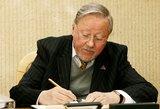 V.Landsbergiui asmens apsaugą siūloma užtikrinti iki gyvos galvos