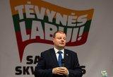 TV3 studijoje Skvernelis pripažino pralaimėjimą