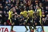"""""""Watford"""" klubas su Giedriumi Arlauskiu nugalėjo """"Liverpool"""""""