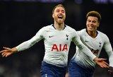 """Drama Londone – """"Tottenham"""" paskutinę akimirką iškovojo pergalę"""