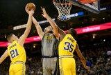 """Sabonis ir visa """"Pacers"""" ekipa užstrigo NBA čempionų gniaužtuose"""