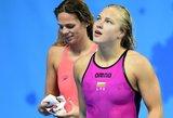 Rūta Meilutytė skaudžiai įgėlė tarptautinei plaukimo federacijai