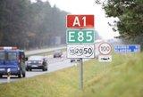 Kapitalinis kelio A1 remontas: pirmiausia kantrybės reikės ties Kaunu
