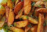 Legendinės bulvytės tirps burnoje: traški išorė, minkštas vidus