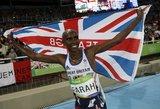 Didžiosios Britanijos bėgikas apgynė olimpinio čempiono titulą 10 000 metrų bėgime