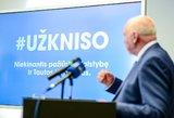 V. Mazuronis pristatė savo rinkiminę programą: prakalbo apie lietuviškas avialinijas ir bankus