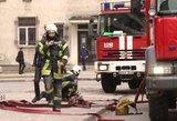 Didžiulėje Klaipėdos gamykloje kilo gaisras