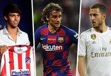 Didžiausi išlaidūnai: kurie futbolo klubai šią vasarą išleido daugiausiai pinigų naujokams?
