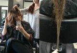 Moterų košmaras: parodė, kaip stipriai slenka plaukai