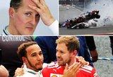 F1 startas: svajonių pinigai, grėsmė Schumacherio rekordams ir sugrįžtantis lenkas