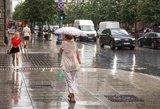 Savaitgalio orai dar vis lepins – lietus pasirodys, tačiau tik dviejuose miestuose
