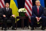 JAV informatorius: Baltieji rūmai siekė paslėpti Trumpo ir Zelenskio pokalbį