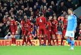 """Anglijos sunkiasvorių dvikovoje – itin svarbi """"Liverpool"""" pergalė"""
