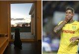 Tragiškai žuvusio futbolininko namuose vis dar laukia ištikima draugė