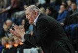 ESPN pakalbino Virginijų Šeškų: angliškai prabilęs treneris sunkiai rinko žodžius