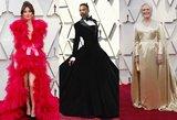 """Raudonasis kilimas kaustė žvilgsnius: įvertinkite """"Oskarų"""" svečių įvaizdį"""