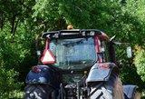 Nesutariama dėl taršos mokesčio traktoriams
