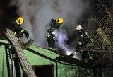 Gaisras Kaišiadorių rajone – degė namas ir ūkinis pastatas