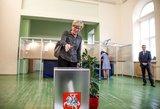 Šimonytė: rinkimų kampanija buvo korektiška ir net nuobodi