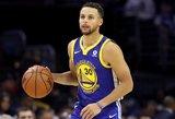 Dončičius vėl siautėjo NBA aikštėje, Curry pelnė pusšimtį taškų