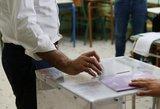 """""""Nauja era"""": Graikijoje vietos valdžios rinkimus laimėjo opozicijos konservatoriai"""