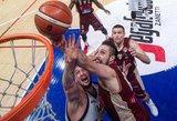 Italijoje – rezultatyvus Lietuvos krepšininkų žaidimas