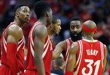 Dėl nugaros skausmų Donatas Motiejūnas praleido dar vienerias NBA rungtynes