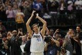 Šaras: Dirkas – geriausias visų laikų Europos krepšininkas