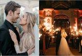 """Dvi """"YouTube"""" žvaigždės iškėlė vestuves: jautri meilės istorija griebia už širdies"""