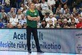 Adomaitis apie išsikeltus tikslus rungtynėse prieš Suomiją: privalėjome neleisti įmesti 50 taškų