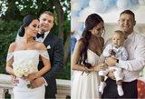 Lebedeva su vyru atšventė antrąsias vestuvių metines: atskleidė, kuo ją sužavėjo imtynininkas