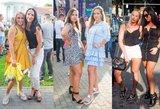 Paskutinę vasaros dieną merginos demonstruoja ilgas kojas: kausto vyrų dėmesį