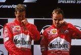 Didžiausia M.Schumacherio gėda: vos nepražudė ištikimiausio draugo