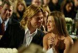 Meilė nerūdija? Pittas slapta apsilankė Aniston gimtadienyje