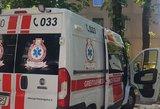 Siaubas Tauragėje: moteris krito iš 3 aukšto, sulaikyti du girti vyrai