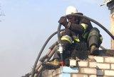 Nelaimė Ignalinos rajone – gaisre sudegė žmogus